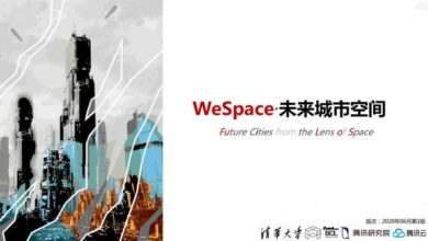 Photo of Wespace · future urban space From Tsinghua University & Tencent Research Institute