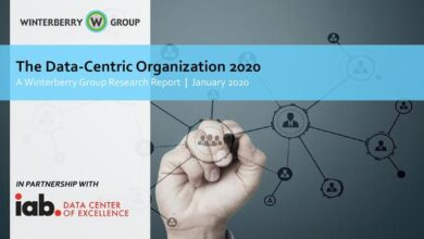 Photo of Data centric enterprises in 2020 From IAB.