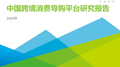 Photo of Research Report on China's cross border shopping guide platform in 2020 From IResearch consulting