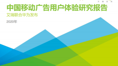 Photo of Research Report on user experience of China Mobile Advertising in 2020 From IResearch consulting