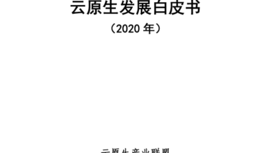 Photo of White paper on cloud primary development in 2020 From China Institute of information and communication