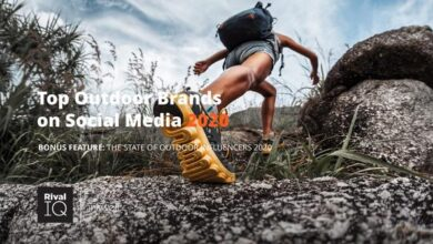 Photo of Outdoor brand rankings on social media in 2020 From Rival IQ