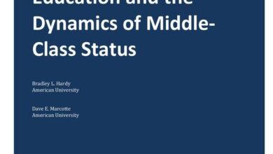 Photo of Education and the dynamics of the middle class From American Universities