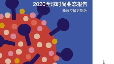 Photo of 2020 global fashion format report From Update of Xinguan epidemic situation