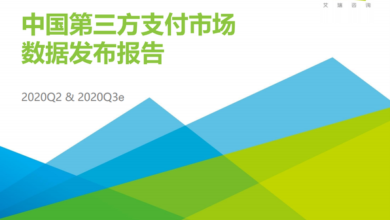 Photo of China's third party payment industry data in 2020 From IResearch consulting