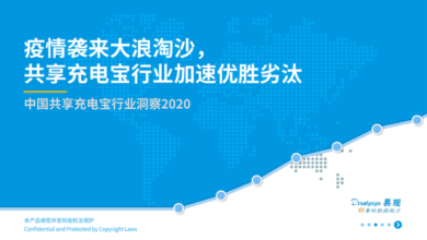Photo of Insight into China's shared power bank industry in 2020 From Yi Guan