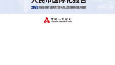 Photo of 2020 RMB internationalization Report From People's Bank of China