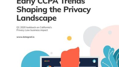Photo of CcpA shaping the pattern of privacy From DataGrail