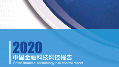 Photo of 2020 China financial technology risk control report From Zero one think tank