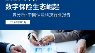 Photo of Report on China's Insurance Technology Industry in 2020 From Love analysis