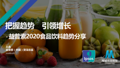 Photo of Food and beverage trend report 2020 From Ipsos, Ipsos