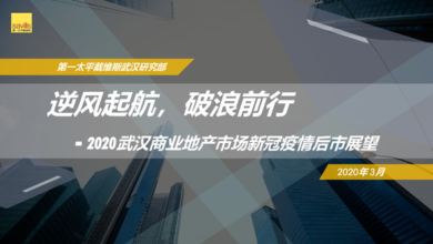 Photo of Prospect of Wuhan commercial real estate market in 2020 From Savills