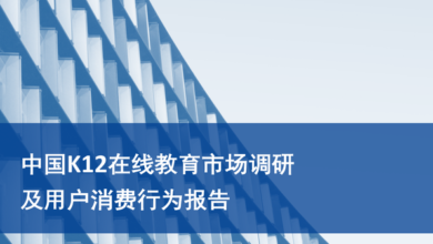Photo of China K12 online education market research and consumer behavior Report From Chinese Academy of Sciences