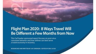 Photo of Report on 8 major changes of tourism industry in the coming months From 2020 aviation plan