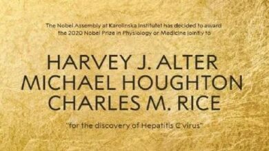 Photo of Three HCV discoverers won awards From 2020 Nobel Prize in physiology or medicine