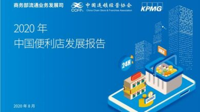 Photo of China convenience store development report in 2020 From Ministry of Commerce & KPMG