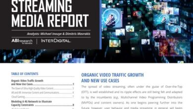 Photo of Streaming media report in 2019 From ABI