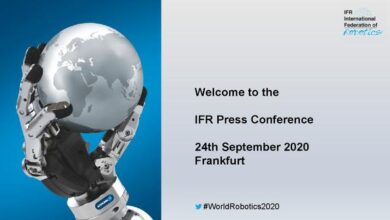 Photo of Global industrial robot report 2020 From International Federation of Robotics