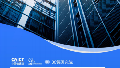 Photo of Blue Book of artificial intelligence medical industry development in 2020 From China Academy of communications and Communications & 36 krypton Research Institute