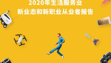 Photo of Report on new business forms and new professional practitioners of life service industry in 2020 From Meituan Research Institute