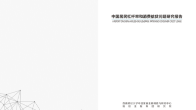 Photo of Research Report on leverage ratio and household consumption credit in China From Southwest University of Finance and Economics & ant financial services