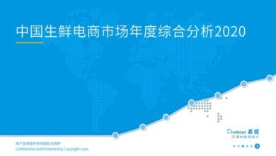 Photo of Annual comprehensive analysis of Chinese fresh e-commerce market in 2020 From Yi Guan