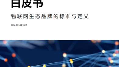 Photo of Internet of things ecological brand white paper From Kaidu & Haier