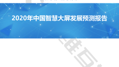 Photo of Forecast report on the development of China's smart screen in 2020 From Aowei mutual Entertainment