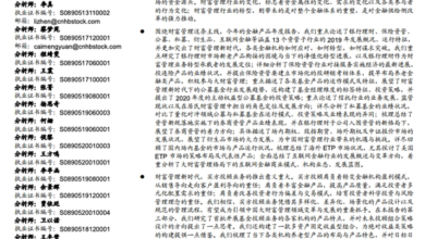 Photo of 2020 annual report of China's financial products From UBS Warburg
