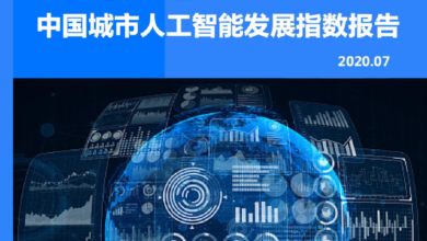Photo of Report on the development index of urban artificial intelligence in China in 2020 From 36 krypton Research Institute