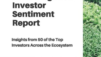 Photo of Investment report on food and agricultural science and technology From AgFunder.