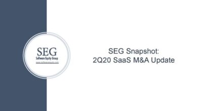Photo of SaaS acquisition report in the second quarter of 2020 From SEG