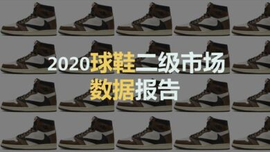 Photo of 2020 footwear secondary market data report From Cui Xiaohui
