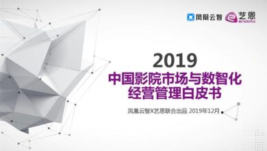 Photo of 2019 white paper on Chinese cinema market and digital intelligence management From Phoenix cloud wisdom & Art grace