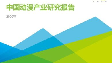Photo of Research Report on China's animation industry in 2020 From IResearch consulting
