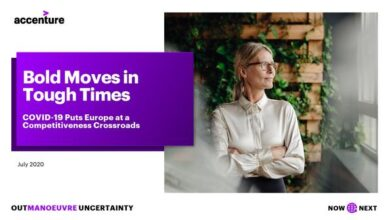 Photo of Bold moves in tough times From accenture