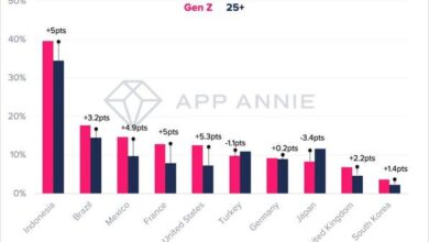 Photo of 2020 generation Z mobile interaction insight Report From App Annie