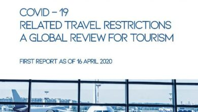 Photo of Global tourism overview report From Covid – 19 related travel restrictions