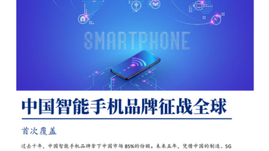 Photo of China's smart phone brands compete in the world From Puyin International