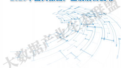 Photo of White paper on the development of China's big data industry in 2020 From Big data industry ecological Alliance