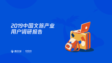 Photo of Research Report on users of China's cultural and tourism industry in 2019 From Tencent Culture & Tourism & CDC