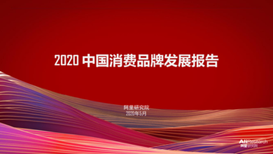 Photo of Report on the development of China's consumer brands in 2020 From Ali Research Institute