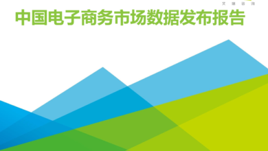 Photo of China's e-commerce market data report from Q1 to Q2 in 2020 From IResearch consulting