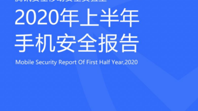 Photo of Mobile phone security report in the first half of 2020 From Tencent security