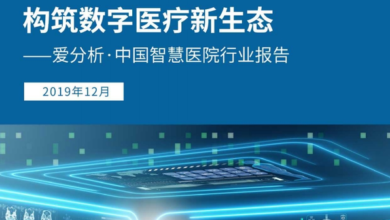 Photo of China smart hospital industry report in 2019 From Love analysis