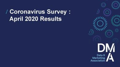 Photo of Data and marketing industry reports during the coronavirus epidemic From DMA