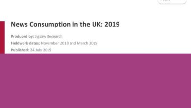 Photo of UK news consumption report in 2019 From Ofcom