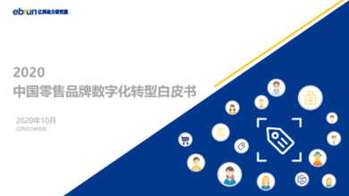 Photo of White paper on digital transformation of Chinese retail brands in 2020 From Yibang Power Research Institute