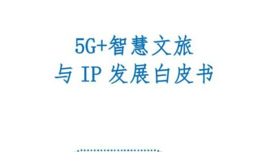 Photo of 5g + smart tourism and IP development white paper From ZTE