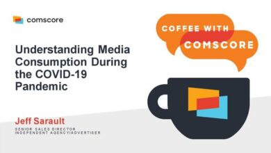 Photo of Media usage report during covid-19 From ComScore